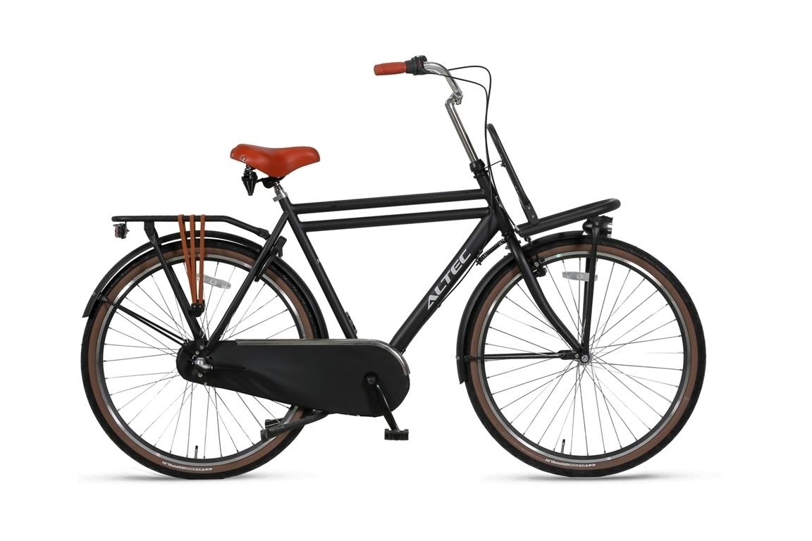 Altec-Dutch-28inch-Transportfiets-N3-Heren-55cm-Zwart