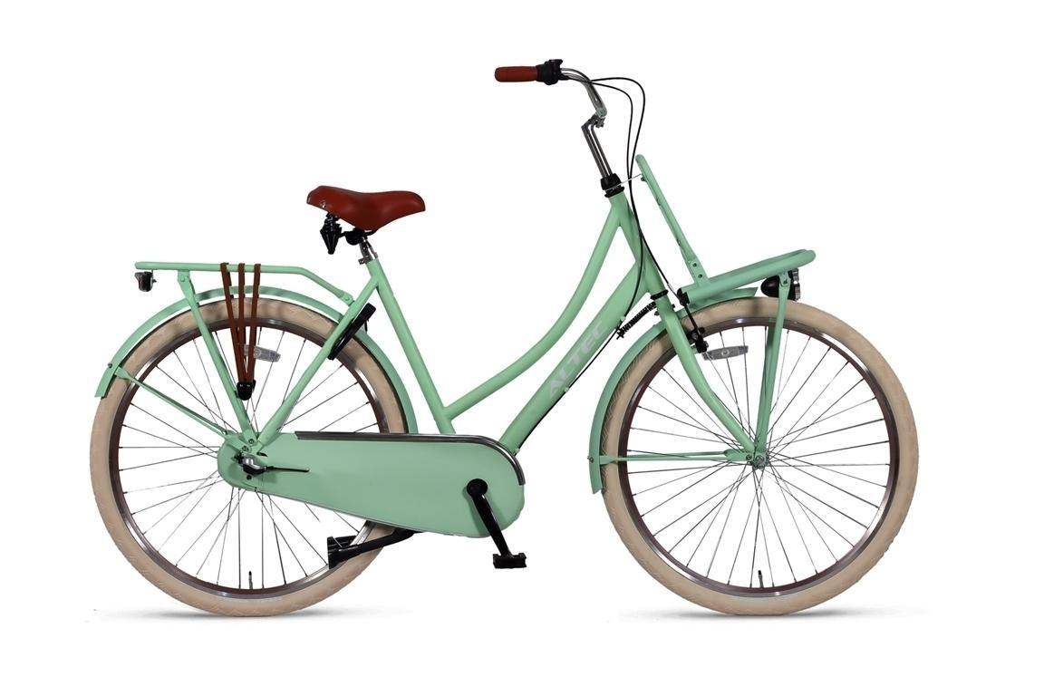 Altec-Dutch-Damesfiets-28inch-Transportfiets-N3-Mint-Green