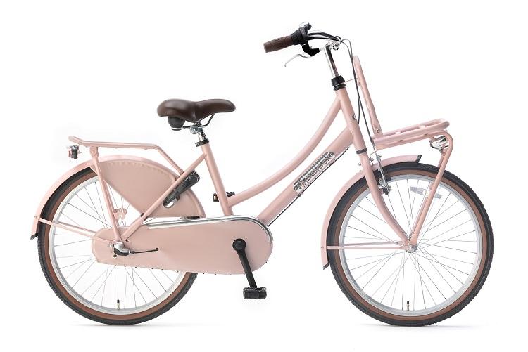 Popal-Meisjesfiets-Daily-Dutch-Basic-meisjesfiets-22-inch-Zalm Roze
