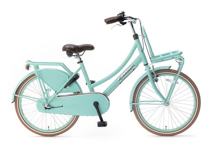 Popal-Meisjesfiets Daily-Dutch-Basic-meisjesfiets-22-inch-mat groen