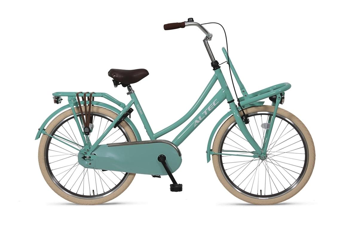 AAltec-Urban meisjesfiets-26inch-Transportfiets-Ocean-Green