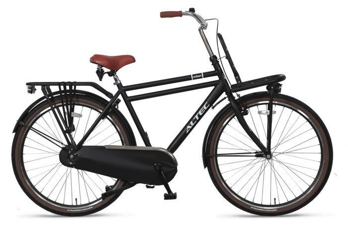 Altec-Urban-28inch-Transportfiets-Heren-55-Zwart