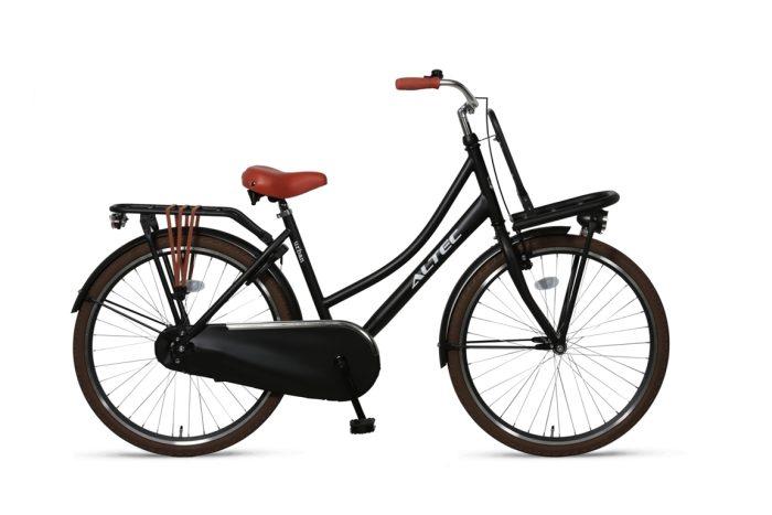 Altec-Urban meisjesfiets-26inch-Transportfiets-Zwart