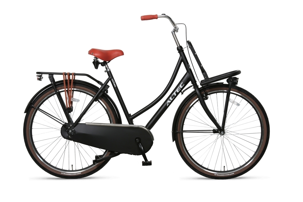 Altec-Urban-damesfiets-28inch-Transportfiets-57-Zwart
