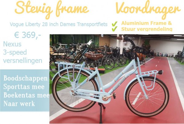 Vogue Liberty 28 inch transportfiets damesfiets