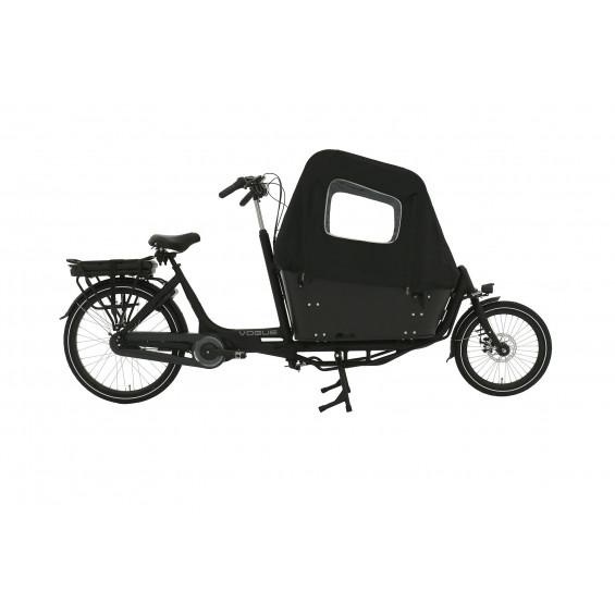 Vogue Carry 2 Tweewieler elektrische bakfiets met ondersteuning middnmotor bafang MAX Drive mat-zwart 2