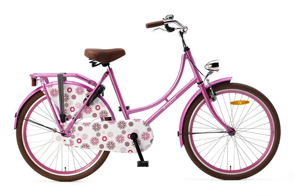 Popal Omafiets 24 inch roze