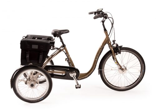 Aldo Lage instap driewieler fiets