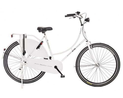 ALFA OMAFIETS HOLLAND CROWN 28 INCH 50CM 1speed wit