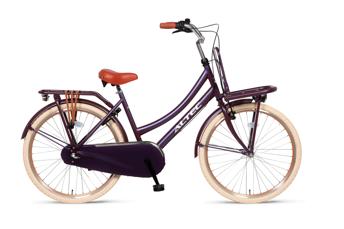 Altec-Dutch-meisjesfiets-24inch-Transportfiets-N3-Violet