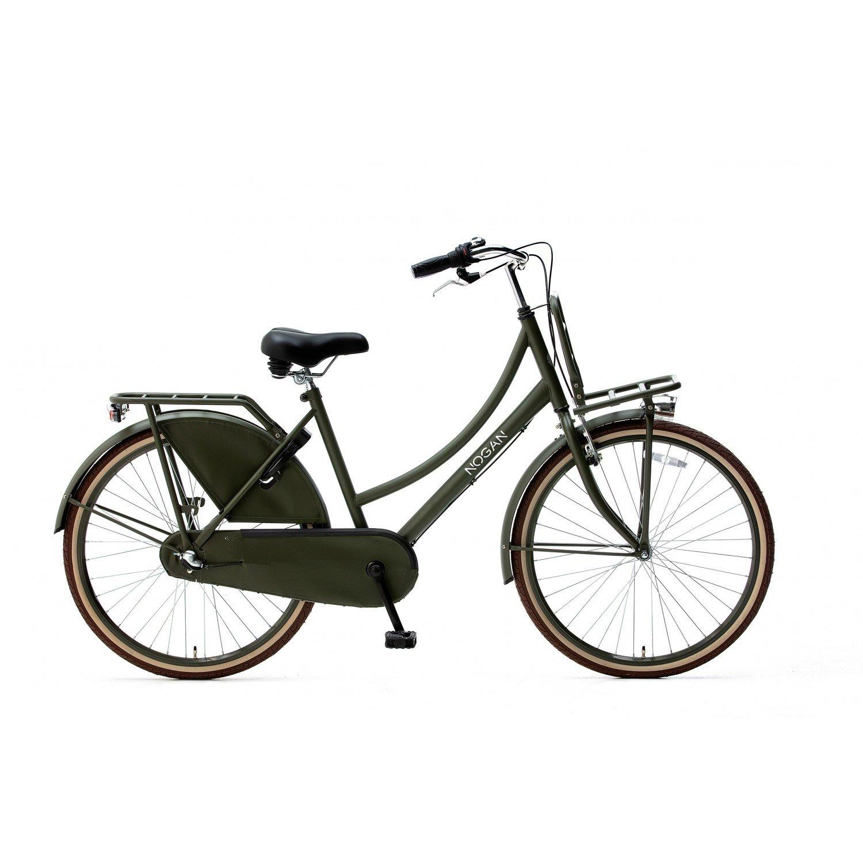 Nogan Vintage 26 inch Transportfiets N3 Army Green Spirit Cargo Transportfietsen Popal Daily Dutch