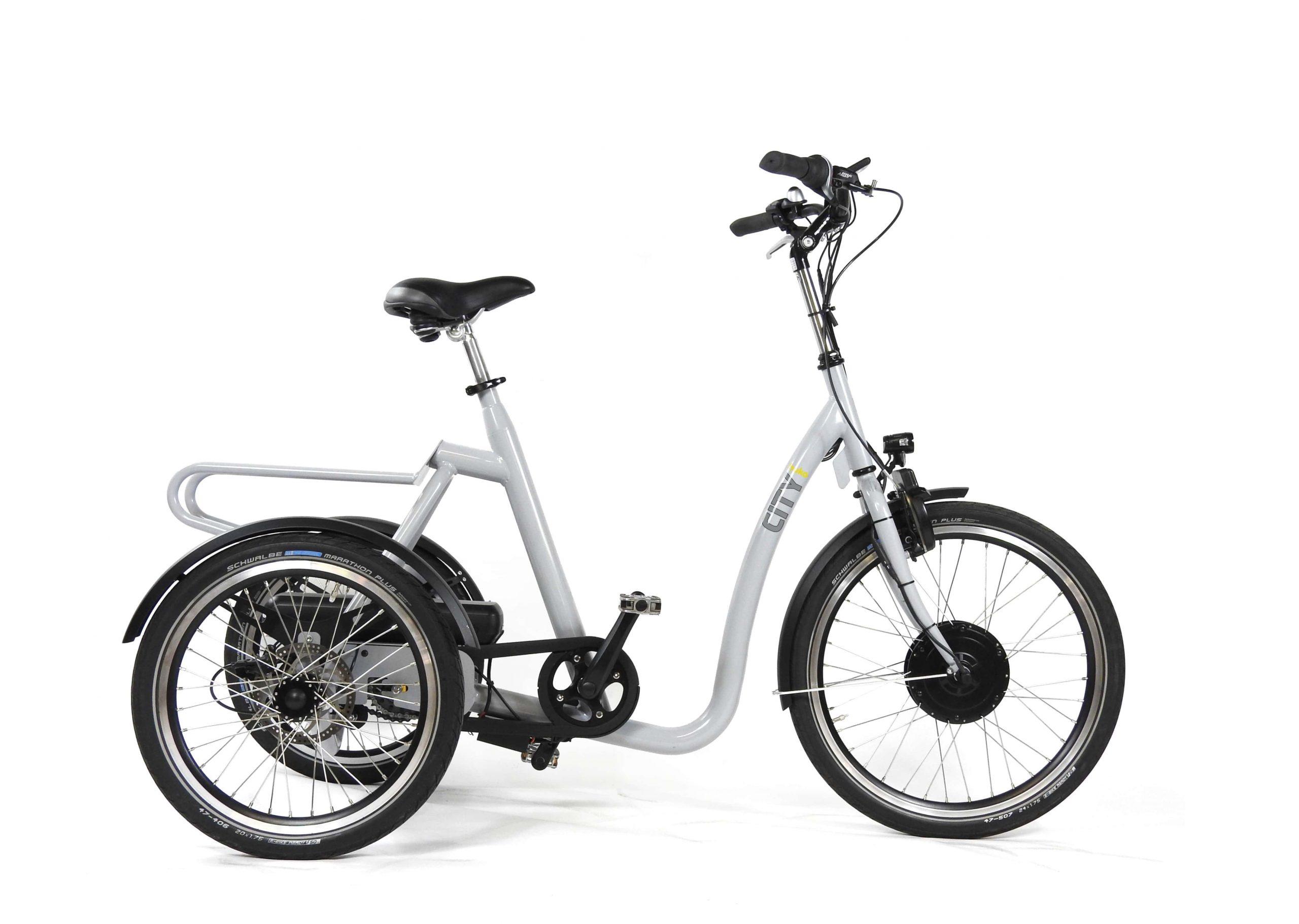 Huka-City-driewieler fiets voor senioren en volwassenen
