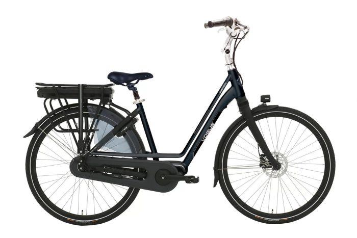 Vogue Zenda Middenmotor Black framemaat 51cm Aluminium Elektrische fiets
