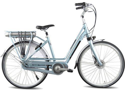 Vogue Zenda Middenmotor Silk Blue framemaat 51cm Aluminium Elektrische fiets